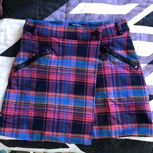 Tartan Wrap Skirt